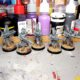 WIP: Dark Eldar Trueborn Warriors kitbashing