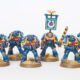 Showcase: 10 Man Ultramarine Tactical Squad