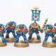 Showcase: 10 Man Ultramarine Tactical Squad