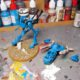 WIP: Eldar War Walker of Iybraesil #1
