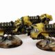 Showcase: Space Marine Imperial Fists Jetbikes