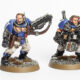 Showcase: Ultramarines Scouts with shotguns