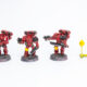 WIP: Blood Angels Mk4 Assault Squad #2