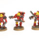 WIP: Blood Angels Mk4 Assault Squad #3