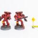 WIP: Blood Angels Mk4 Assault Squad #4