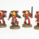Showcase: Blood Angels Mk4 Assault Squad