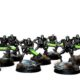 Showcase: Necron Warriors and Canoptek Scarabs