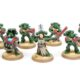 Showcase: 10 man Dark Angel Tactical Squad