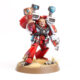 Showcase: Blood Angel Sanguinary Priest with Jump Pack