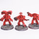 WIP: Blood Angels Tartaros Terminators #1