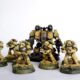 WIP: Imperial Fist Tactical Marines and Kharn the Betrayer