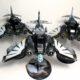 Showcase: Dark Angels Ravenwing Dark Talon and Nephilim Jetfighters