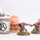 Tutorial: How to paint Skaven (Skavenblight Scramblers) for Blood Bowl
