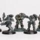 WIP: Silver Skulls Primaris Kill Team #1