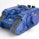 WIP: Ultramarines Land Raider Crusader #2