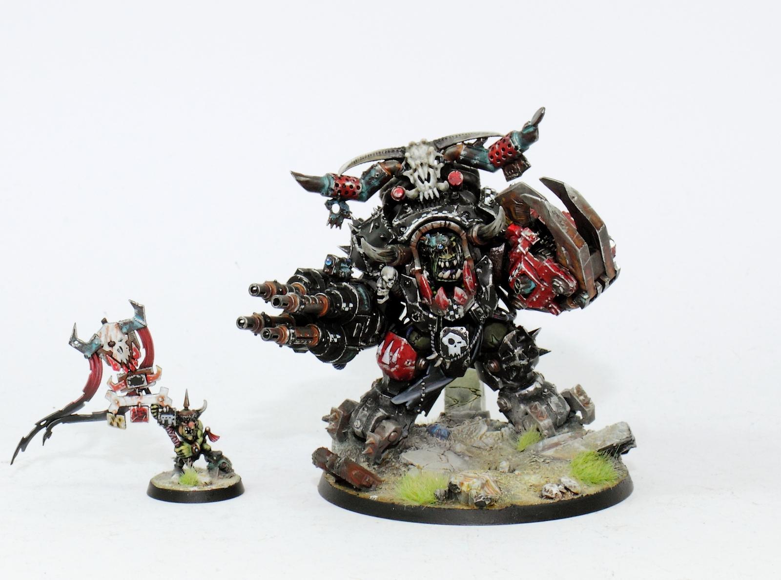 In Hand Makari Warhammer 40k Orks Ghazghkull Thraka