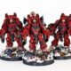 Showcase: Blood Angels Primaris Aggressors by Forest