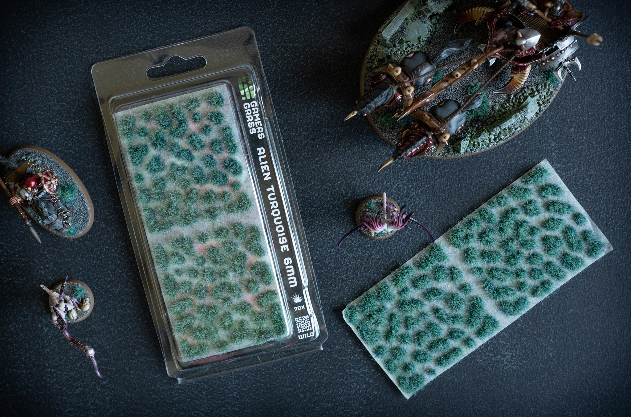 Gamers Grass Alien Turquoise 6mm