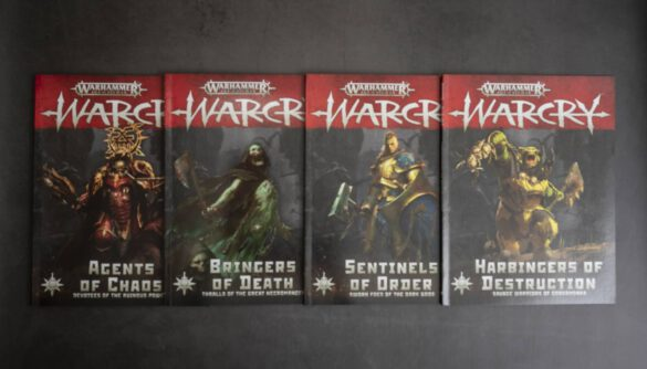 Warcry Book Reviews