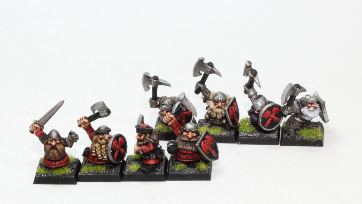 Classic Marauder Clansmen and Ironbreakers Dwarfs