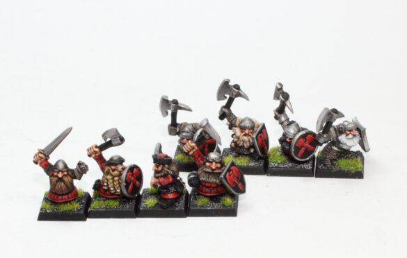Classic Marauder Clansmen and Ironbreakers Dwarfs