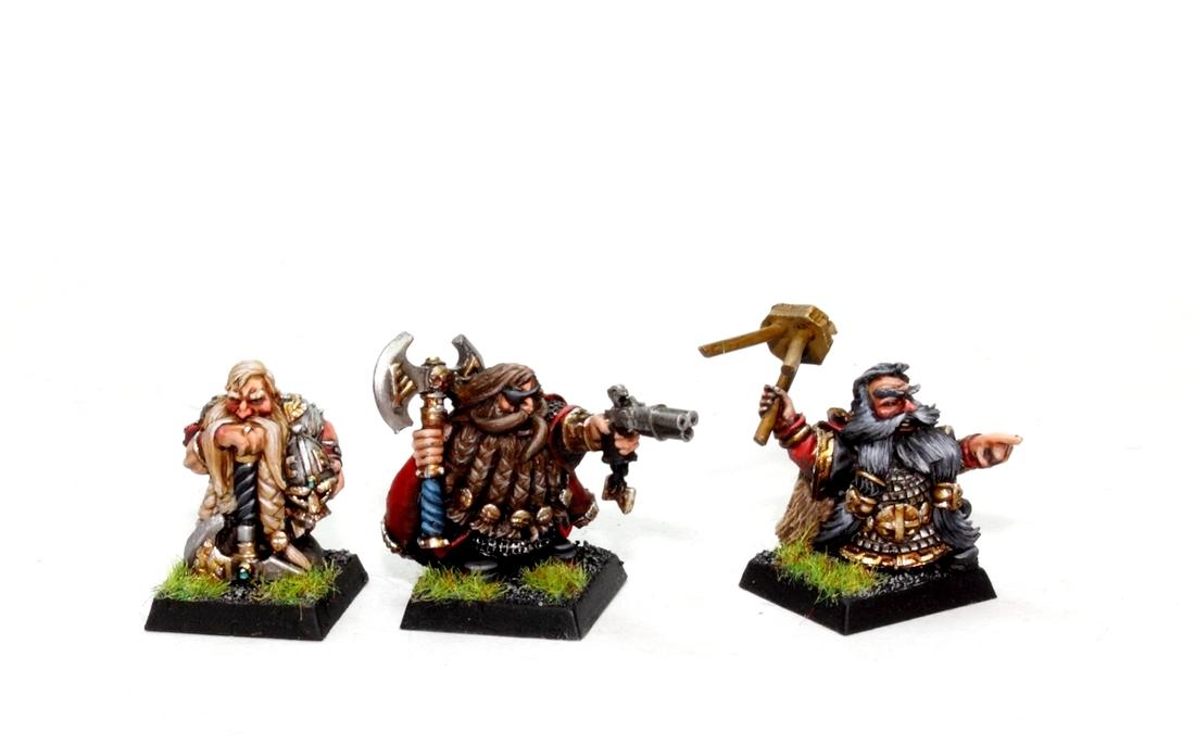 Classic Warhammer Fantasy Dwarf Lords