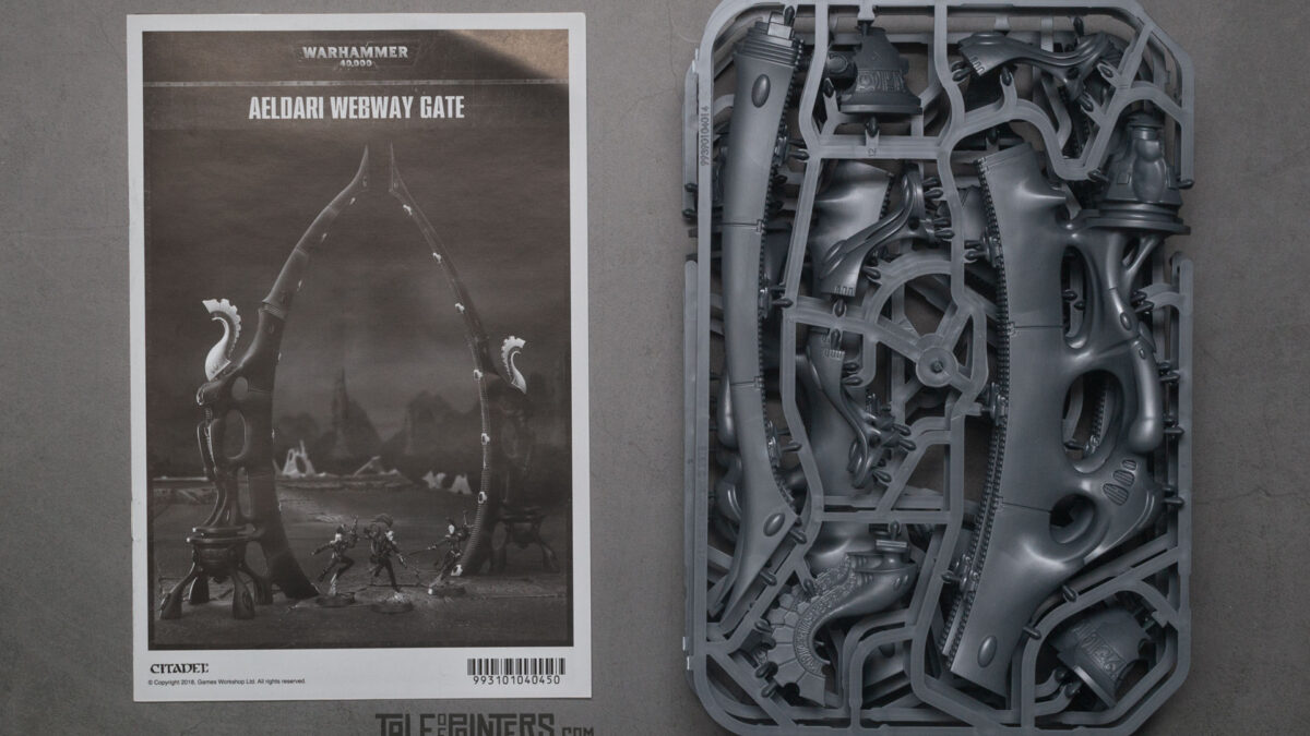 Review: Aeldari / Eldar Webway Gates contents