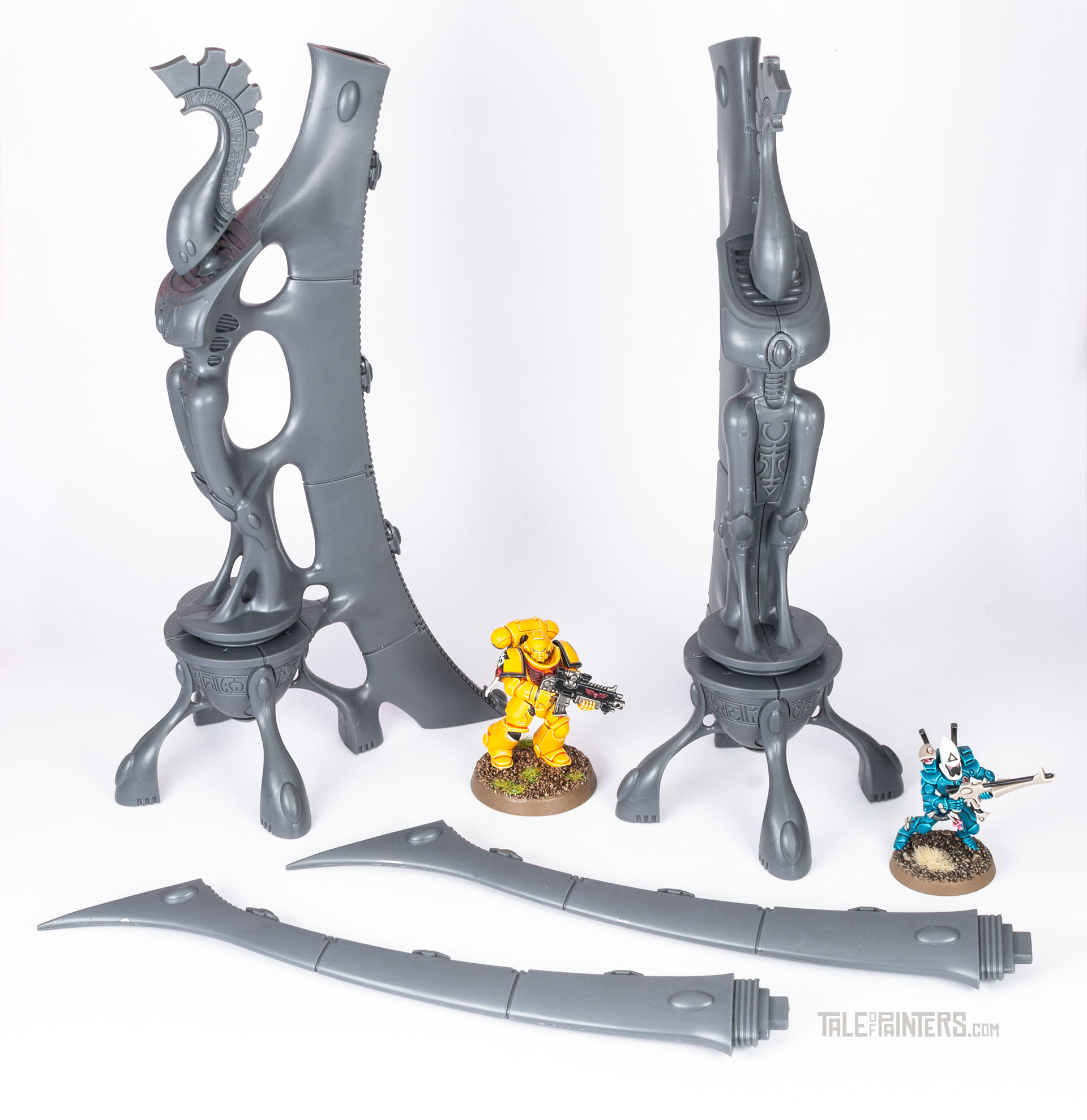 Review: Aeldari / Eldar Webway Gates assembly and size