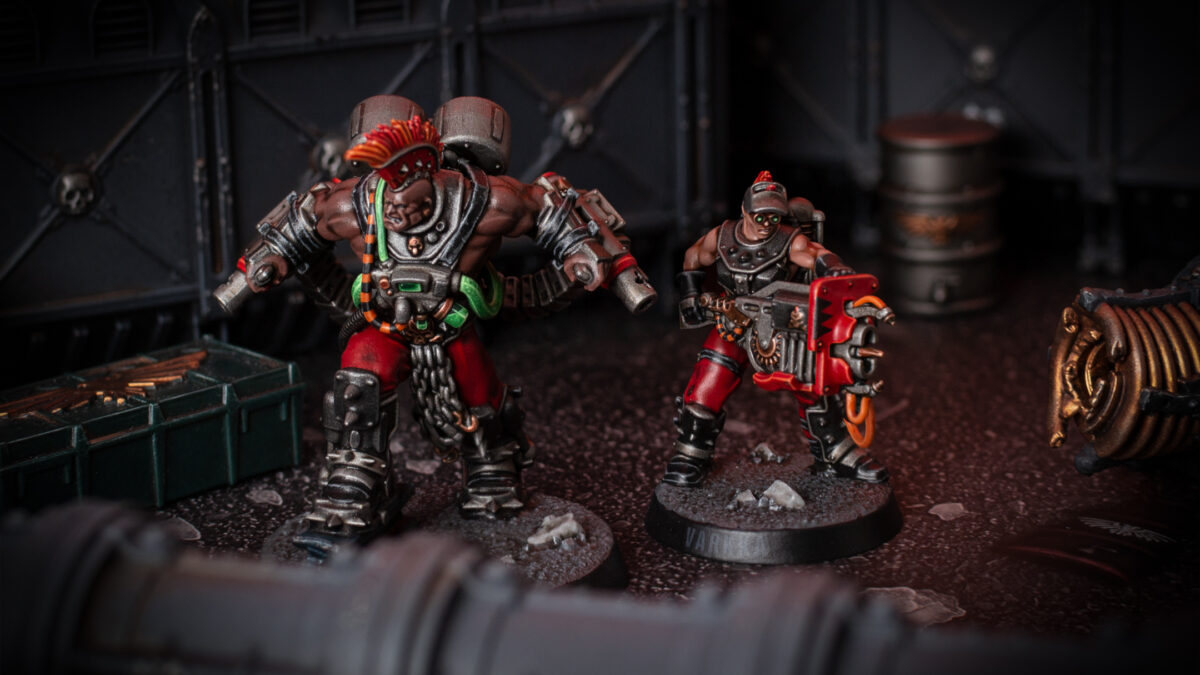 Goliath Stimmer and Forge-Born for Necromunda
