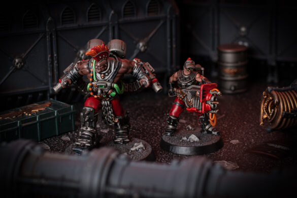 Goliath Stimmer and Forge-Born for Necromunda