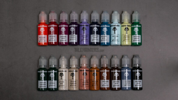 A selection of 20 Antithesis Paints from Warcolours