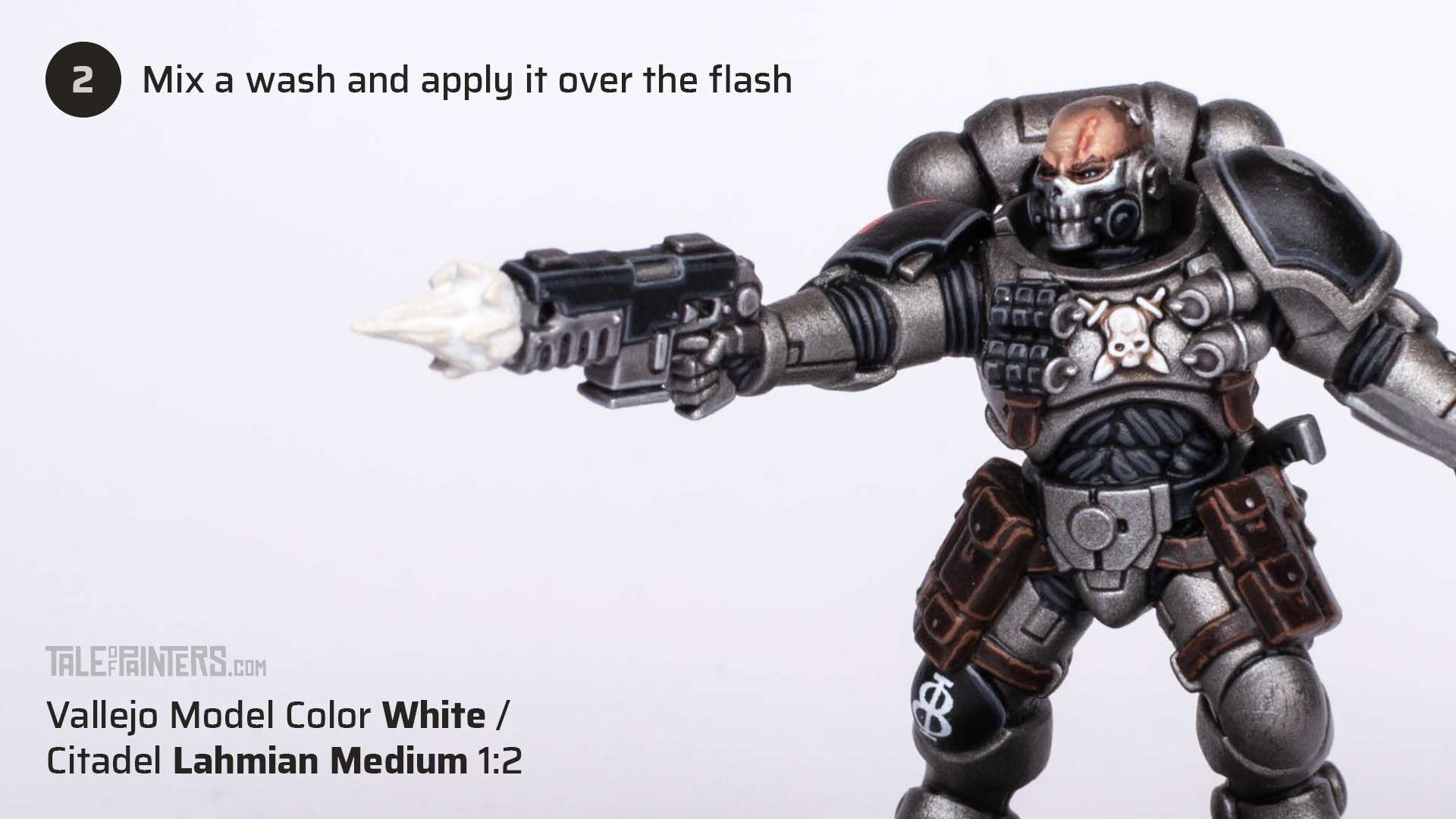 Tutorial: How to paint cinematic muzzle-flashes - step 2