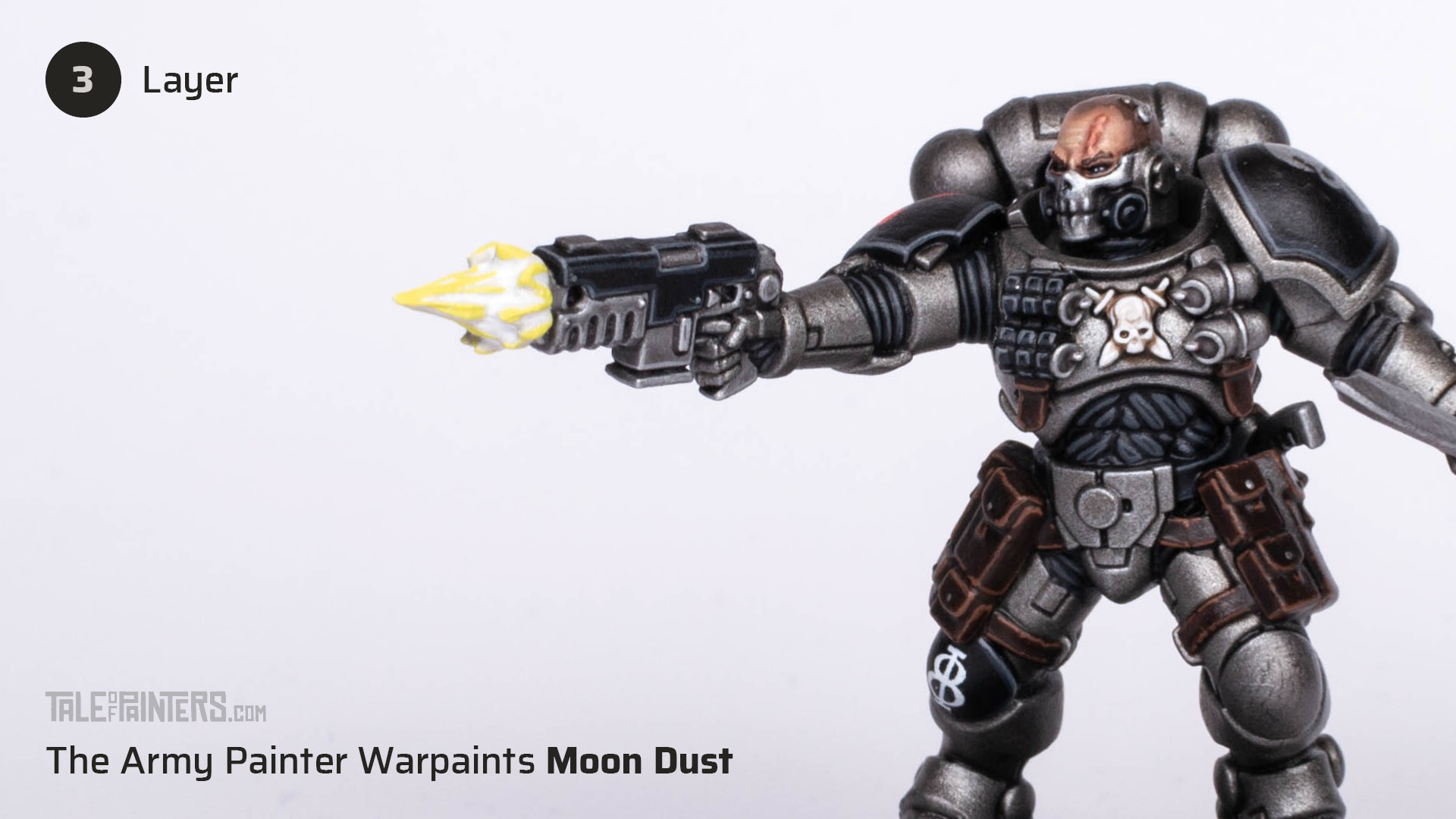 Tutorial: How to paint cinematic muzzle-flashes - step 3