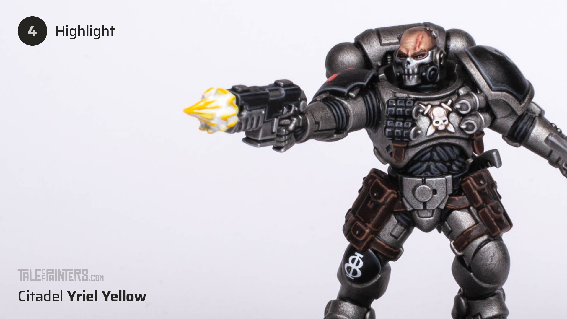 Tutorial: How to paint cinematic muzzle-flashes - step 4