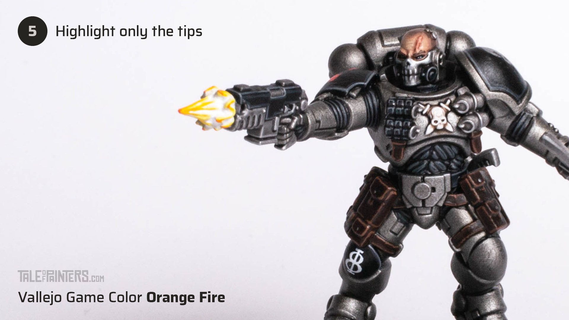 Tutorial: How to paint cinematic muzzle-flashes - step 5