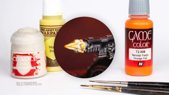 Tutorial: How to paint cinematic muzzle-flashes - featured image