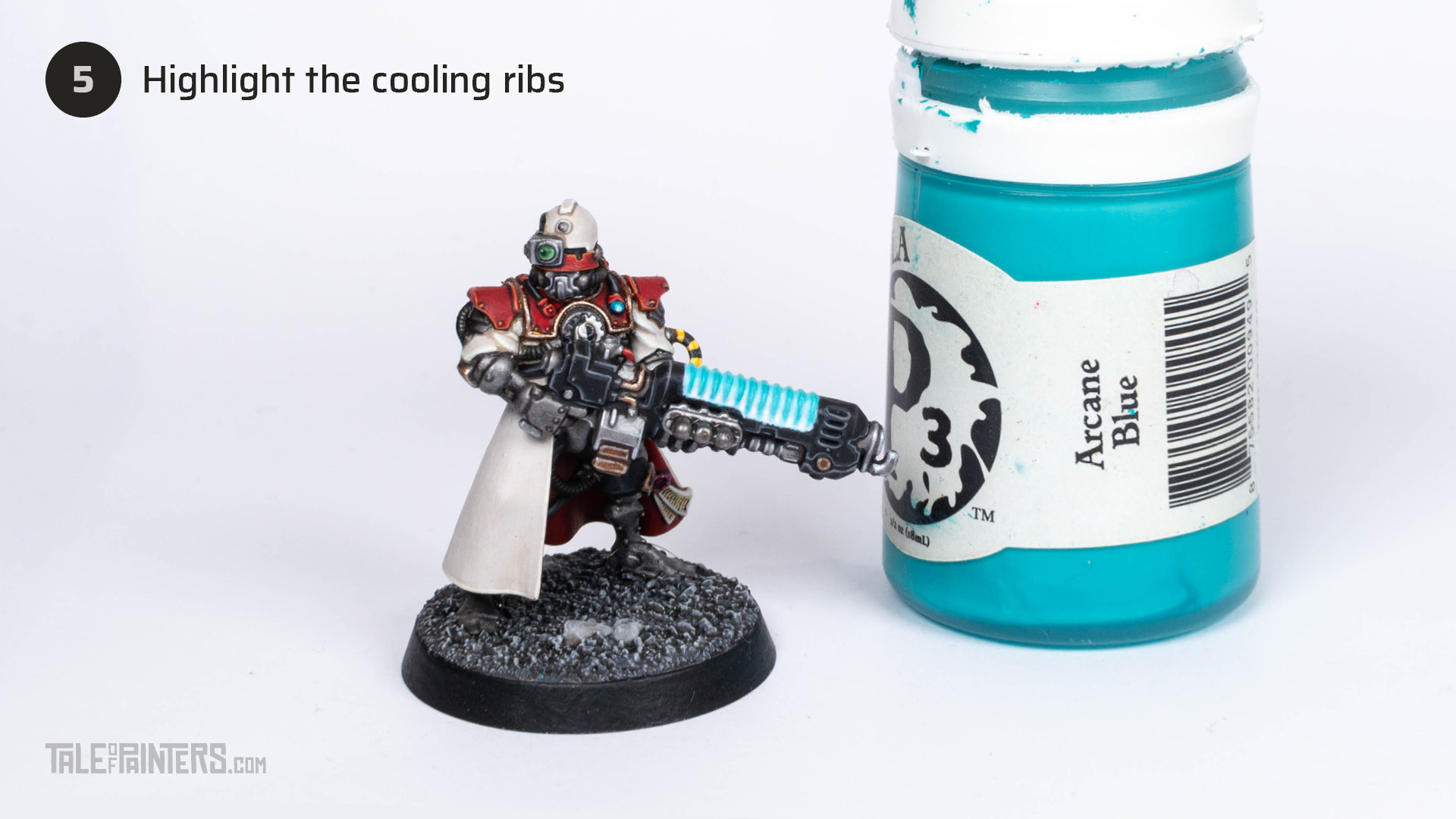 Tutorial: How to paint an inverted plasma glow effect - step 5