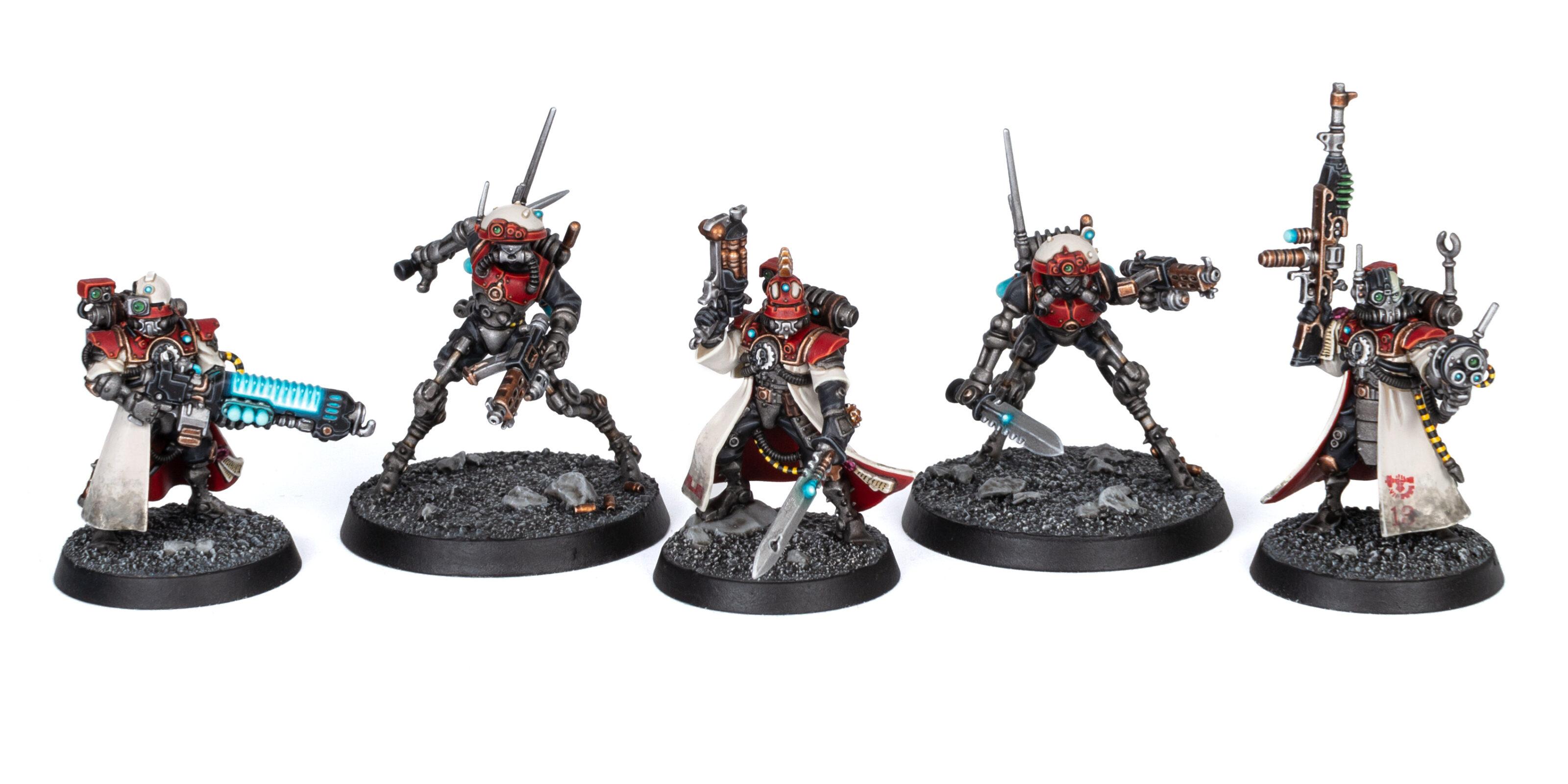 Adeptus Mechanicus Kill Team Skitarii and Sicarian Infiltrators