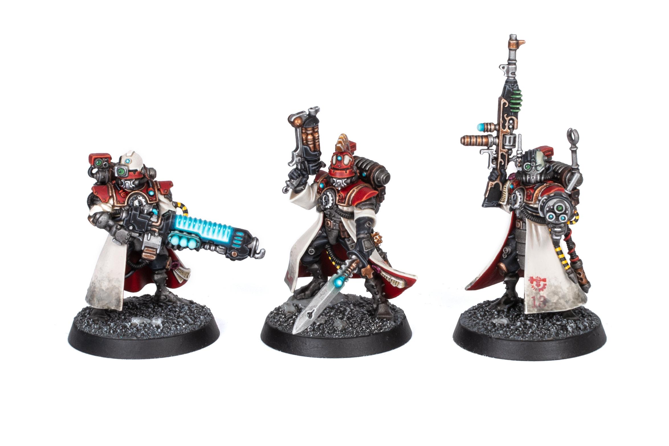 Adeptus Mechanicus Kill Team Skitarii Vanguard front