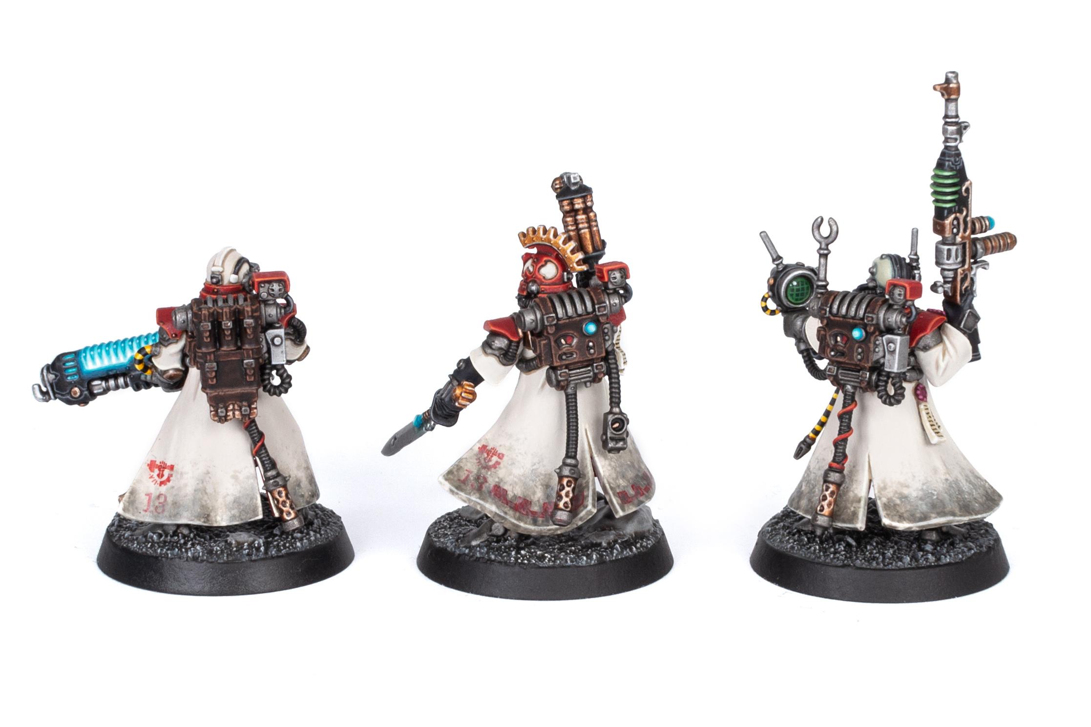 Adeptus Mechanicus Kill Team Skitarii Vanguard back