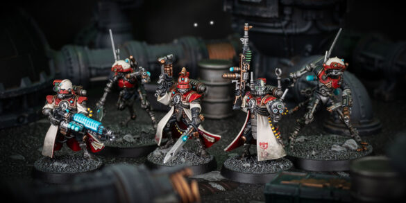 Adeptus Mechanicus Kill Team Scenic Shot
