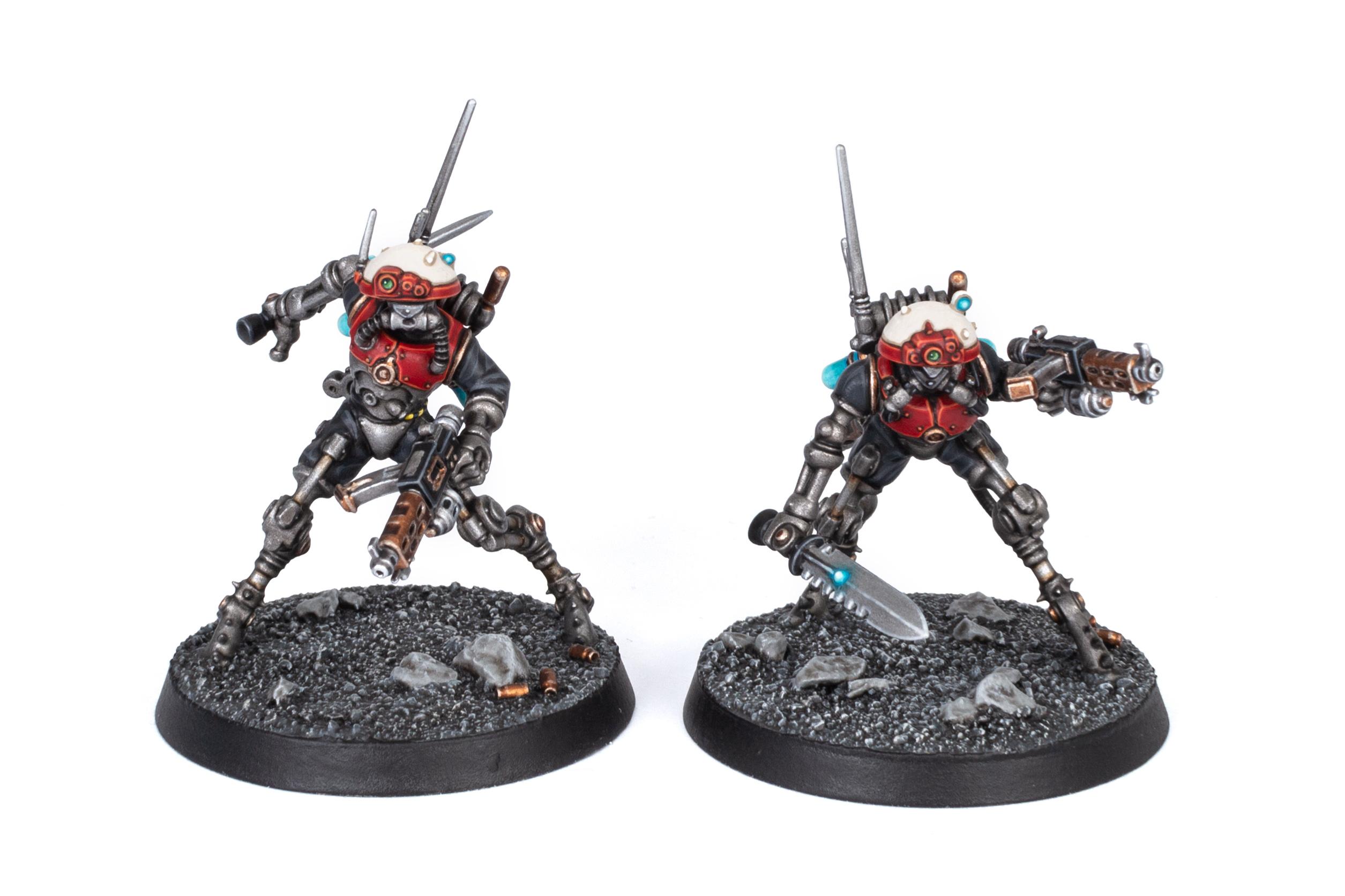 Adeptus Mechanicus Kill Team Sicarian Infiltrators front