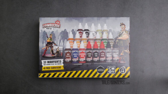 Review: Zombicide 2nd Edition Paint Set by The Army Painter - Box