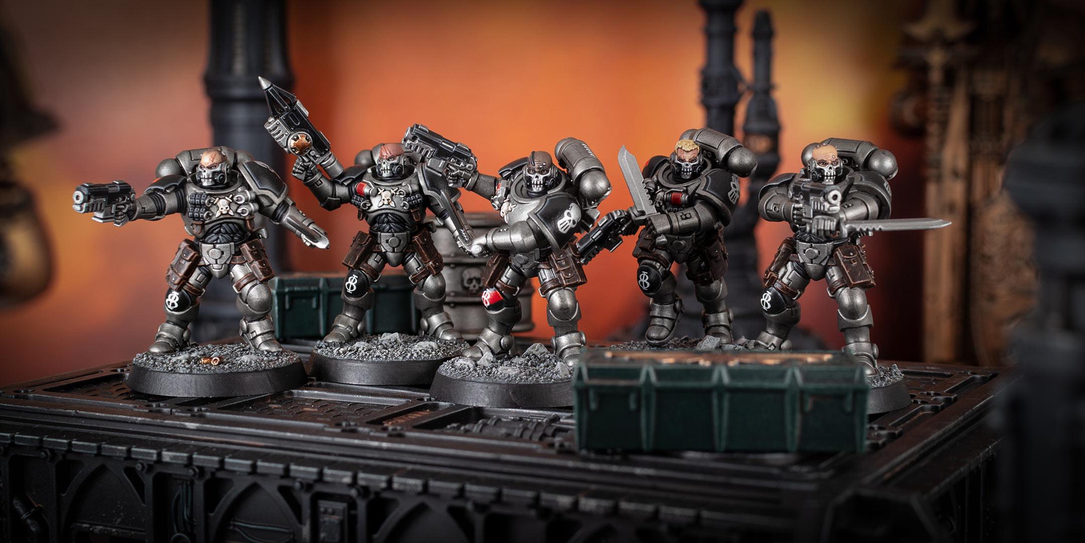 Silver Skulls Primaris Reivers Squad