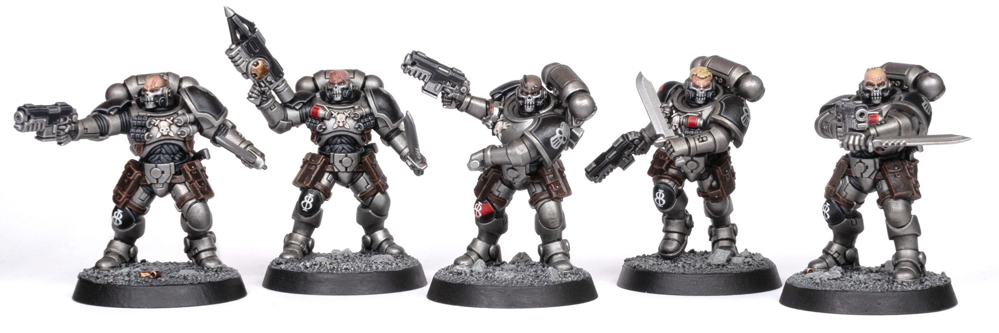 Silver Skulls Primaris Reiver Squad