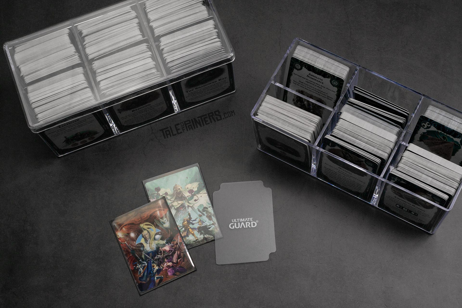 How to store and protect Warhammer Underworlds cards - Stack'n'Safe 480