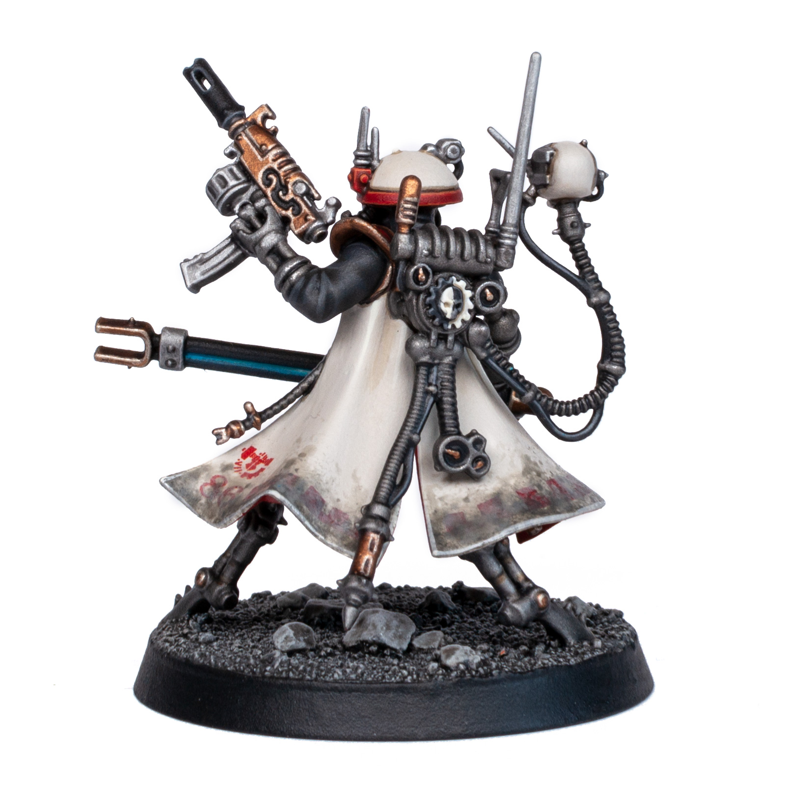Adeptus Mechanicus Forge World Metalica Sicarian Infiltrator Princeps back