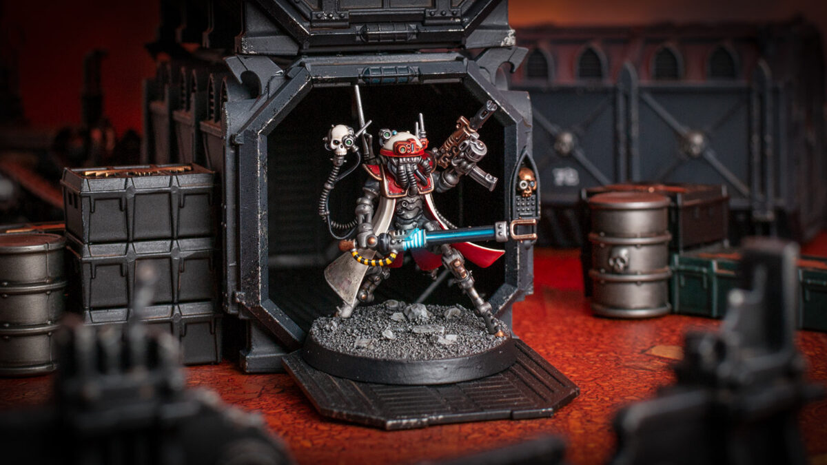 Adeptus Mechanicus Forge World Metalica Sicarian Infiltrator Princeps Scenic Shot