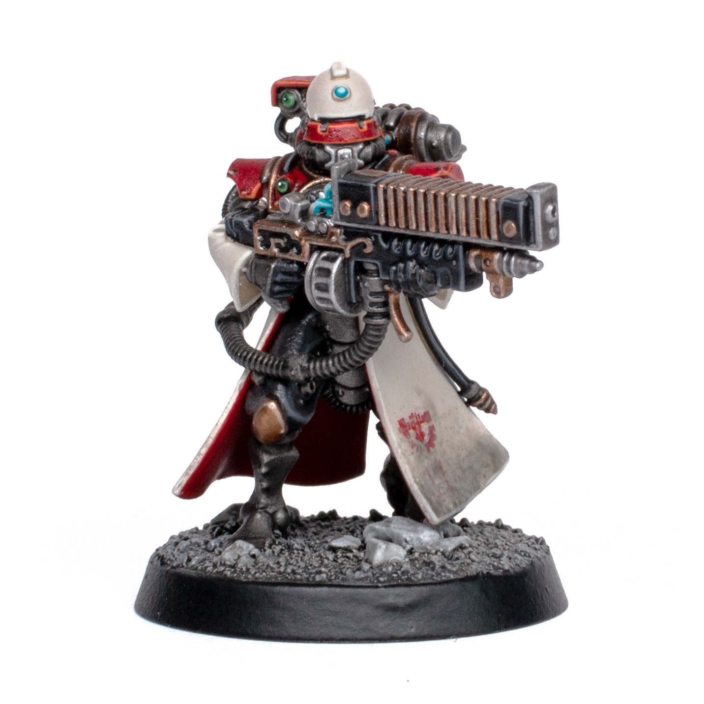 Skitarii from Forge World Metalica with Arc Rifle