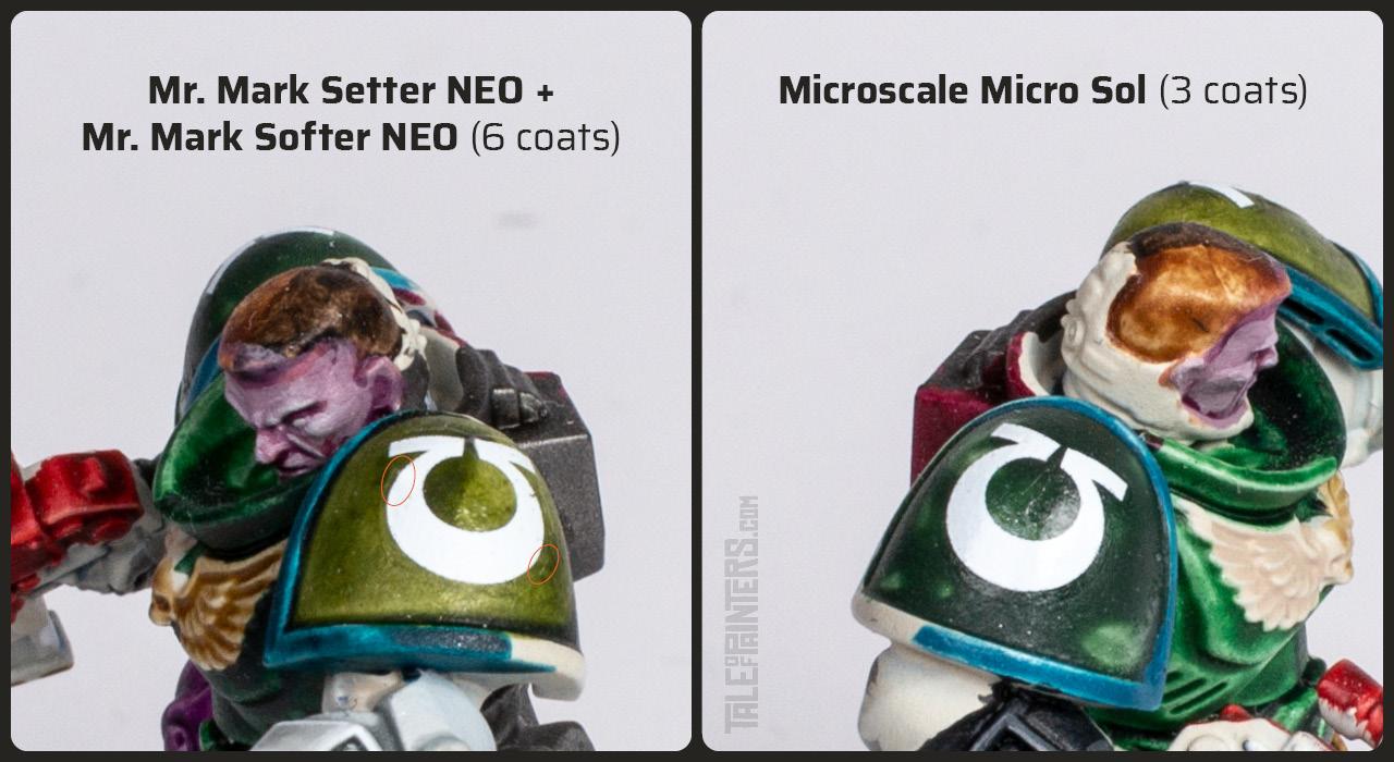 Comparison between Mr. Mark Setter & Softener and Microsol